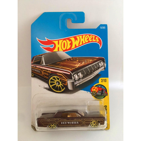 Hot Wheels - 64 Lincoln Continental Marron - Mainline 2017