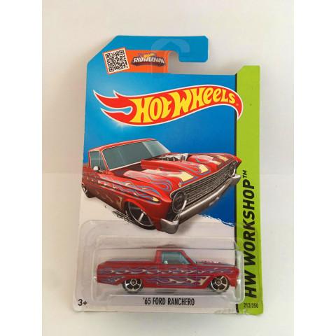 Hot Wheels - 65 Ford Ranchero Vermelho - Mainline 2014