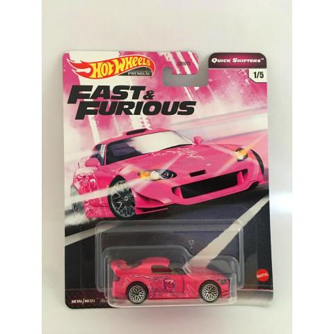 Hot Wheels - Honda S2000 Rosa - Fast & Furious - Quick Shifters