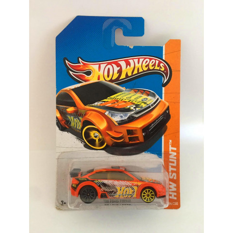 Hot Wheels - 08 Ford Focus Laranja - Mainline 2013