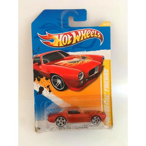 Hot Wheels - 73 Pontiac Firebird Vermelho - Mainline 2012