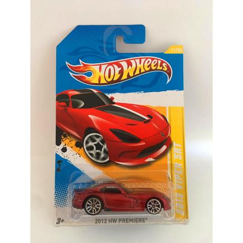Hot Wheels - 2013 Viper Srt Vermelho - Mainline 2012