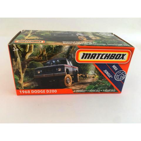 Matchbox - 1968 Dodge D200 Azul - Power Grabs - Básico 2020