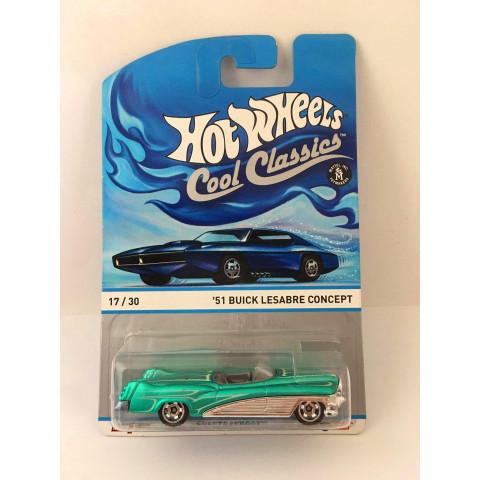 Hot Wheels - 51 Buick Lesabre Concept Verde - Cool Classics