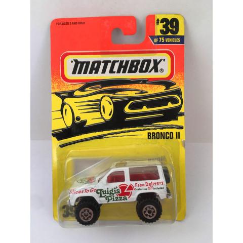 Matchbox - Bronco    Branco - Básico 1997