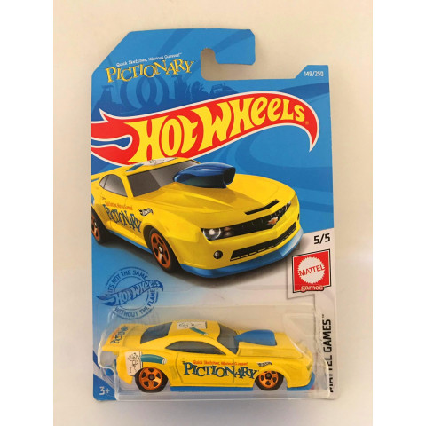 Hot Wheels - 10 Pro Stock Camaro Amarelo - Mainline 2021