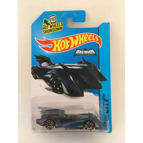 Hot Wheels - Batmobile Azul - Batman The Brave And The Bold - Mainline 2014