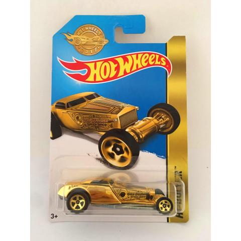 Hot Wheels - HI-Roller Dourado - Mainline 2017