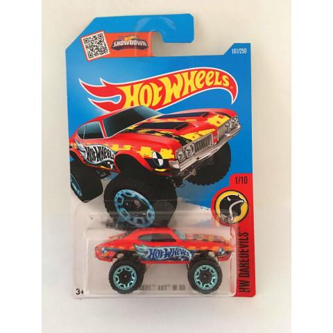 Hot Wheels - Olds 442 W-30 Vermelho - Mainline 2016