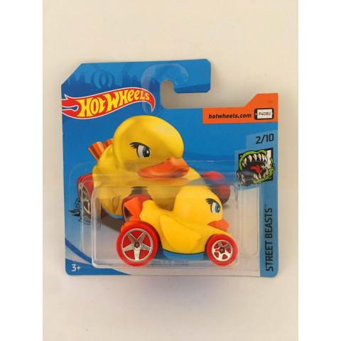 Hot Wheels - Duck N' Roll Amarelo - Mainline 2019