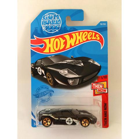 Hot Wheels - Ford GT-40 Preto - Mainline 2021
