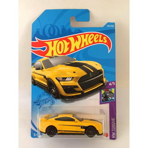 Hot Wheels - 2020 Ford Mustang Shelby GT500 Amarelo - Mainline 2021