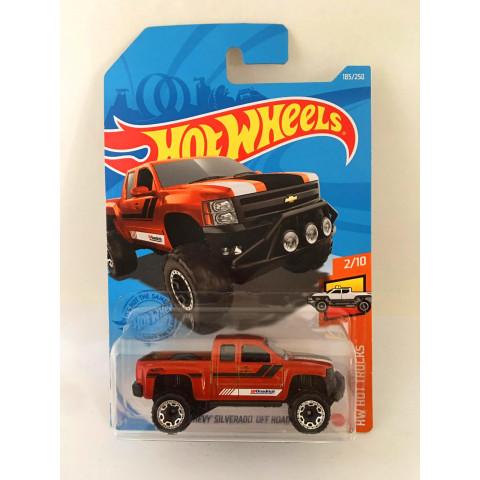 Hot Wheels - Chevy Silverado Off Road Laranja - Mainline 2021