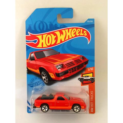 Hot Wheels - 82 Dodge Rampage Vermelho - Mainline 2021