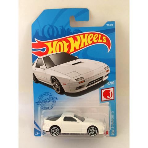 Hot Wheels - 89 Mazda Savanna Rx-7 FC35 Branco - Mainline 2021