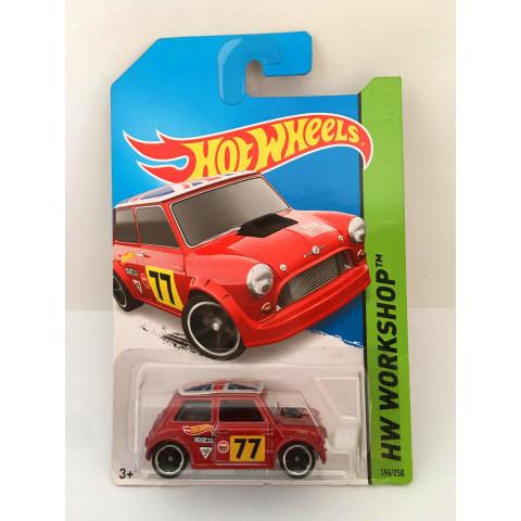 Hot Wheels - Morris Mini Vermelho - Mainline 2014