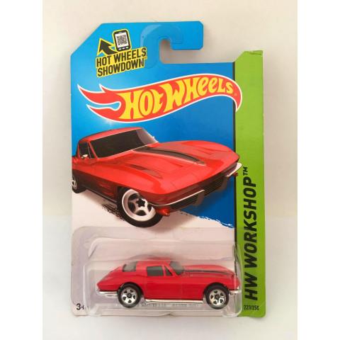 Hot Wheels - 64 Corvette Sting Ray Vermelho - Mainline 2014