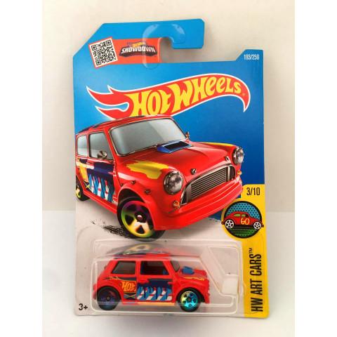 Hot Wheels - Morris Mini Vermelho - Mainline 2016