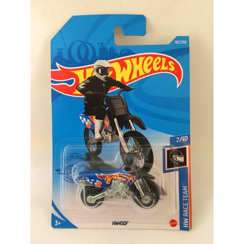 Hot Wheels - HW450F Azul - Mainline 2021