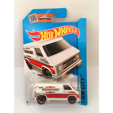 Hot Wheels - Super Van Branco - Mainline 2014