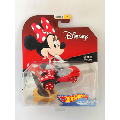 Hot Wheels - Minnie Mouse - Disney - Character Cars