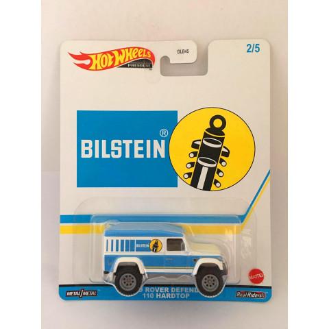 Hot Wheels - Land Rover Defender Branco/Azul - Speed Shop Garage - Pop Culture