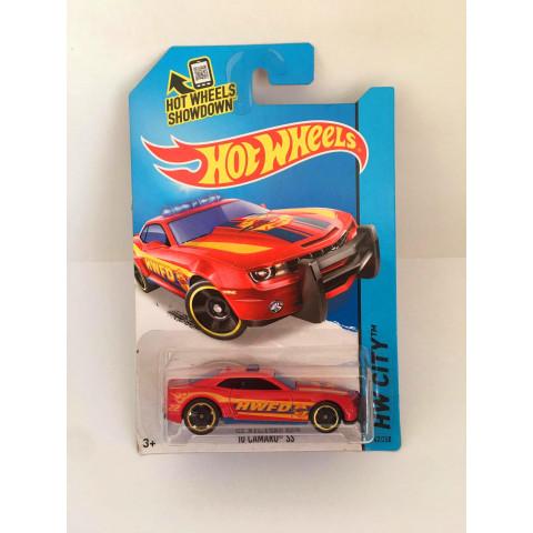 Hot Wheels - 10 Camaro SS Vermelho - Mainline 2014