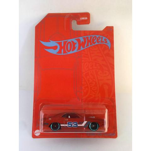 Hot Wheels - 70 Dodge Hemi Challenger - 53rd Anniversary Orange and Blue