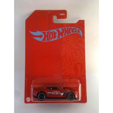 Hot Wheels - 18 Camaro SS - 53rd Anniversary Orange and Blue