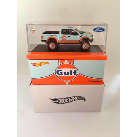 Hot Wheels - 17 Ford Raptor - Gulf - RLC Exclusive