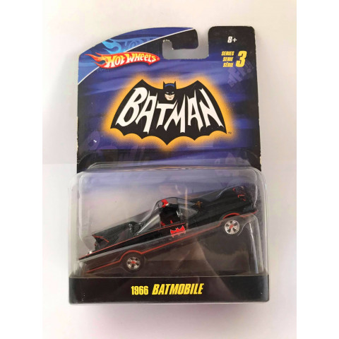 Hot Wheels - 1966 Batmobile - Batman Serie 3 - Escala 1:50