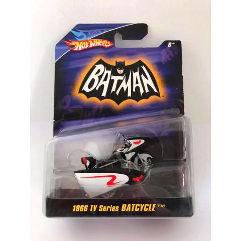 Hot Wheels - 1966 Tv Series Batcycle - Batman - Escala 1:50