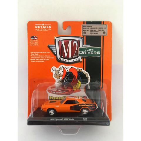 M2 Machines - 1971 Plymouth HEMI Cuda - Auto-Drivers