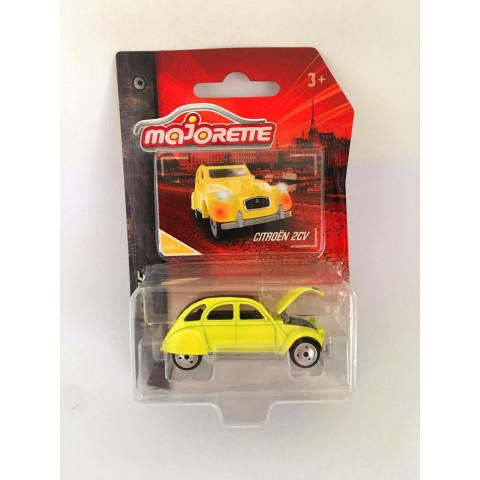 Majorette - Citroen 2CV Amarelo - Vintage
