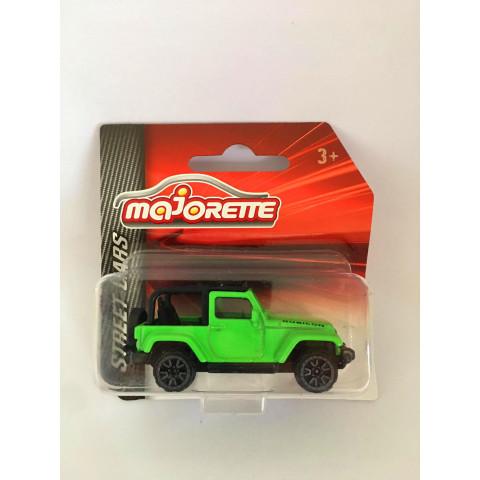 Majorette - Jeep Wrangler Verde - Street Cars