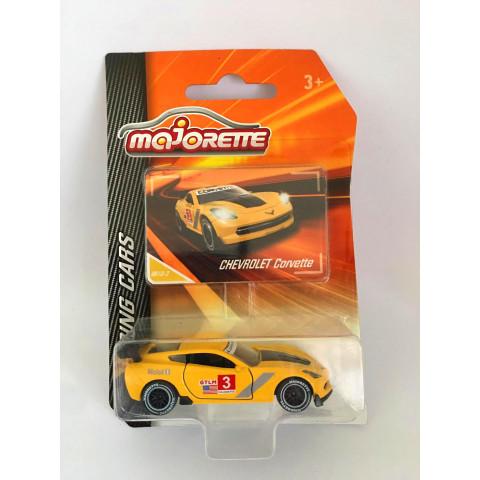 Majorette - Chevrolet Corvette Amarelo - Racing Cars