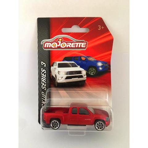 Majorette - Chevrolet Silverado Vermelho - Pickup Series 3