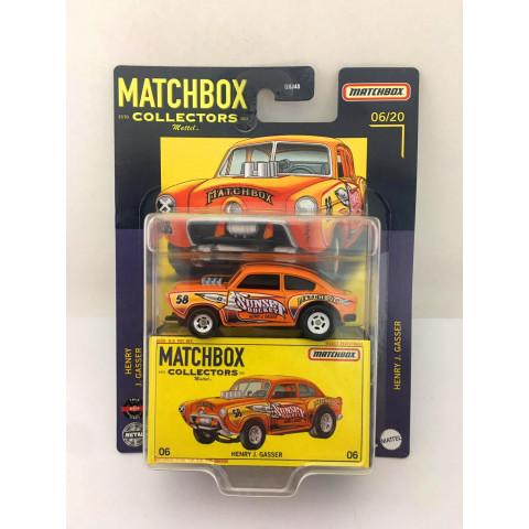 Matchbox - Henry J. Gasser Laranja - Matchbox Estd. Collectors 2021