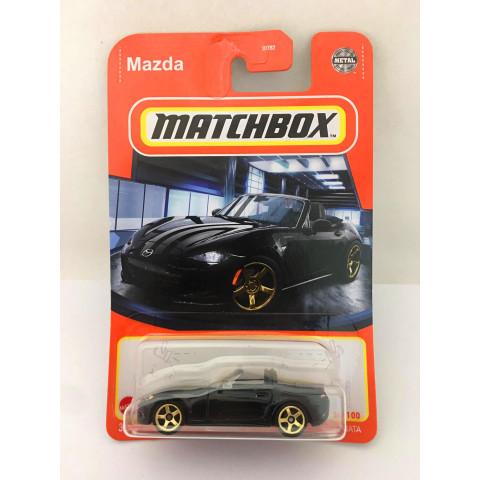 Matchbox - Mazda MX-5 Miata Preto - Básico 2021