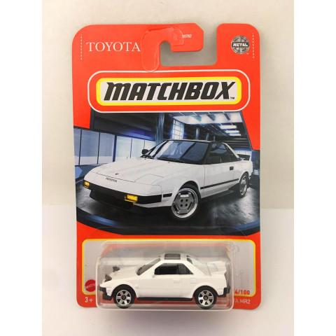 Matchbox - 1984 Toyota MR2 Branco - Básico 2021