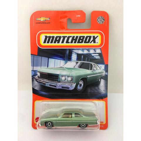 Matchbox - 1975 Chevy Caprice Verde - Básico 2021