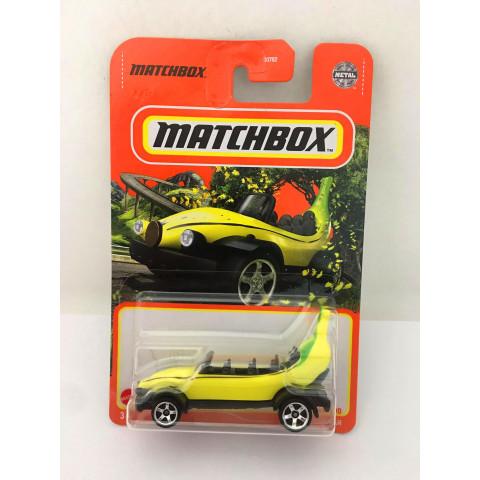 Matchbox - Big Banana Car  Amarelo - Básico 2021