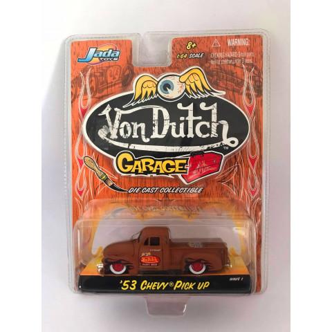 Jada - 53 Chevy Pick UP Marrom - Von Dutch Garage