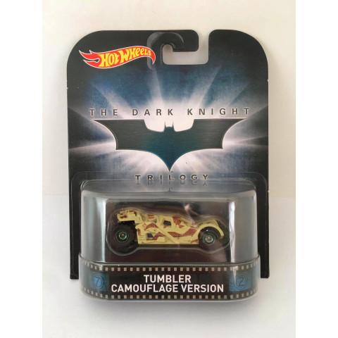 Hot Wheels - Tumbler Camouflage Version - The Dark Knight Trilogy - Retro