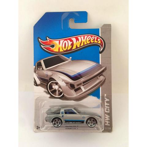 Hot Wheels - Mazda RX-7 Cinza - Treasure Hunt 2013