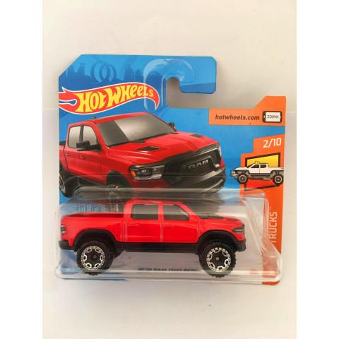 Hot Wheels - 2020 Ram 1500 Rebel Vermelho - Cartela Curta - Mainline 2020