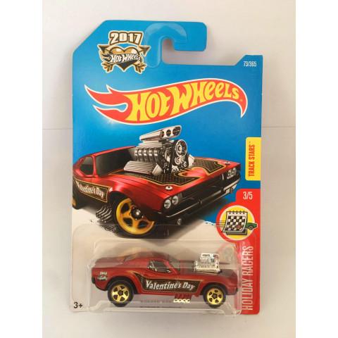 Hot Wheels - Rodger Dodger Vermelho - Mainline 2017