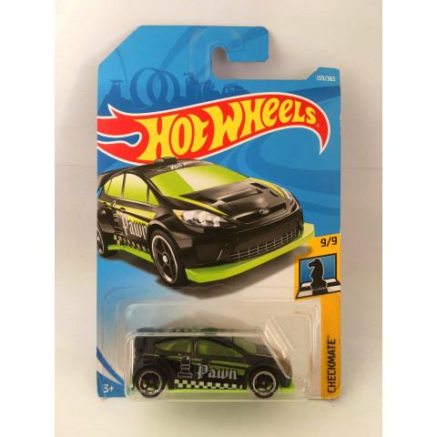 Hot Wheels - 12 Ford Fiesta Preto - Mainline 2018