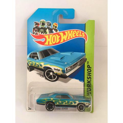Hot Wheels - 71 Dodge Demon  Azul - Mainline 2013
