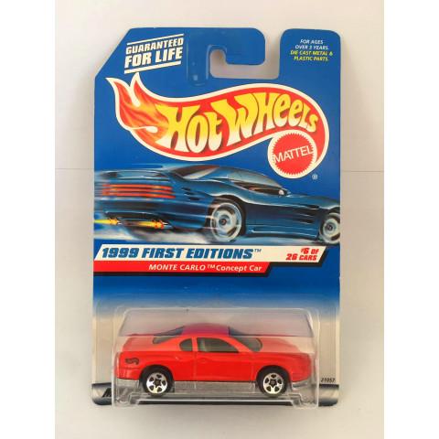 Hot Wheels - Monte Carlo Concept Car Vermelho - Mainline 1999